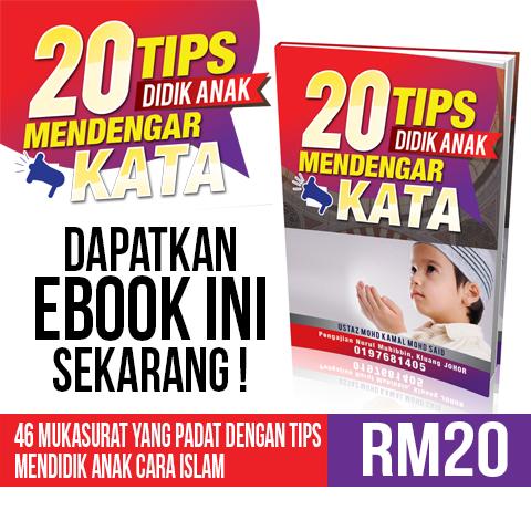 Flyers Buku Anak Dengar Kata by draxter7