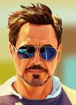 Robert Downey Jr. by Somelarder