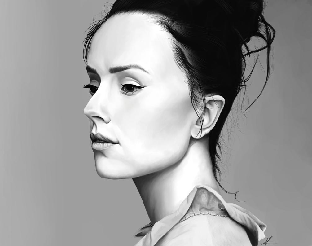 Daisy Ridley by Somelarder