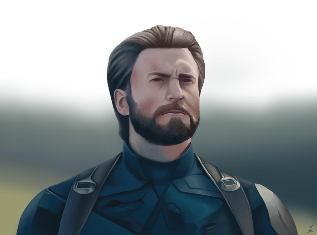 Captain America by Somelarder