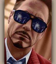 Robert Downey Jr by Somelarder
