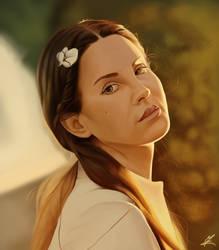 Lana del Rey by Somelarder