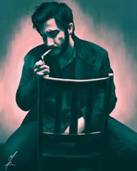 Smoking by Somelarder