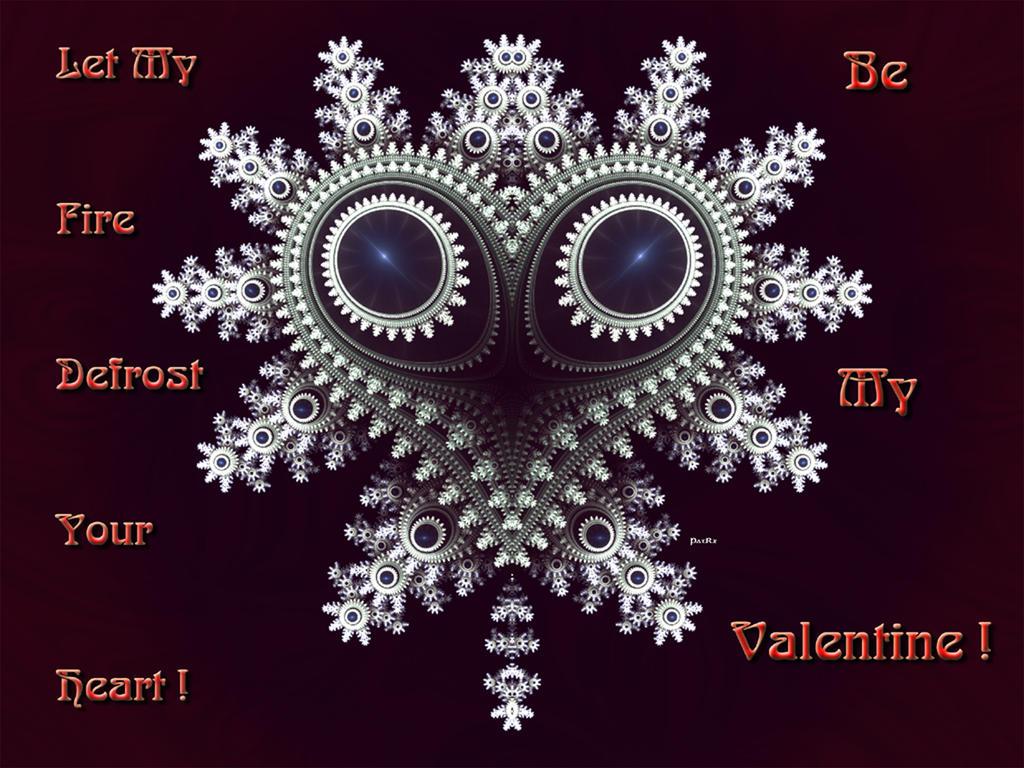 Snow Heart Valentine by patrx