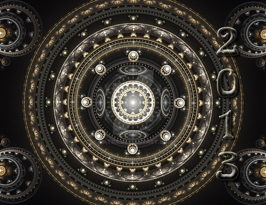 Fractal Calendar 2013c cover by patrx