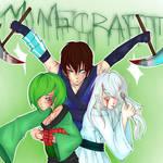 Minecraft in Anime
