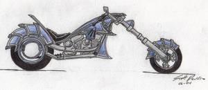 Blue Dragon Chopper