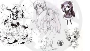 muchos dibujos by Bremita