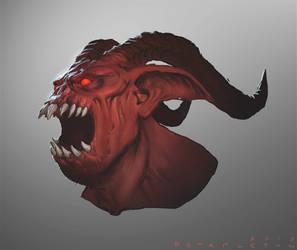 Diablo III Fallen Overseer Speedpaint