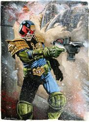 Judge Dredd by dimitriskoskinas