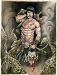 Conan's Fun Day (Portfolio piece) by dimitriskoskinas
