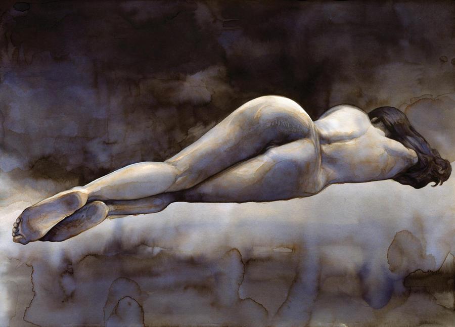 Nude 4 (Sold) by dimitriskoskinas