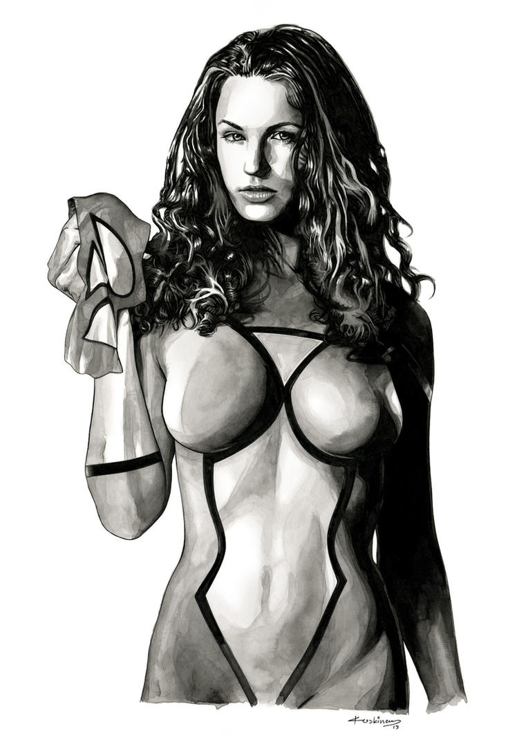 Marvel's Spider Woman (Sold) by dimitriskoskinas