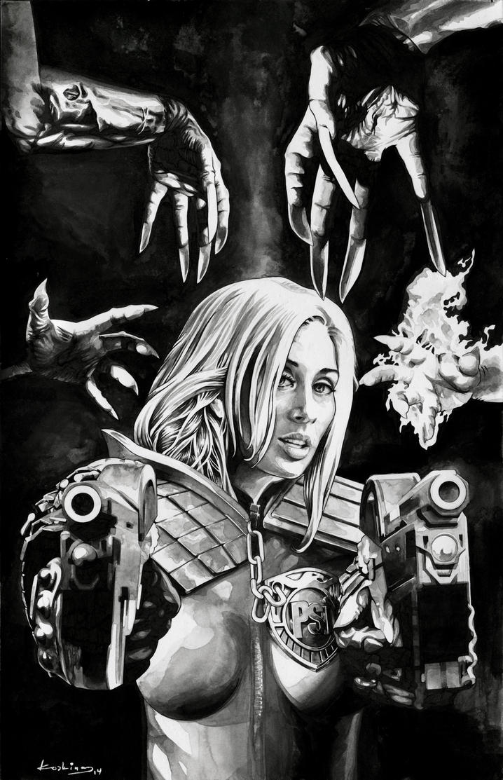 Judge Anderson VS The Dark Judges - Sold by dimitriskoskinas