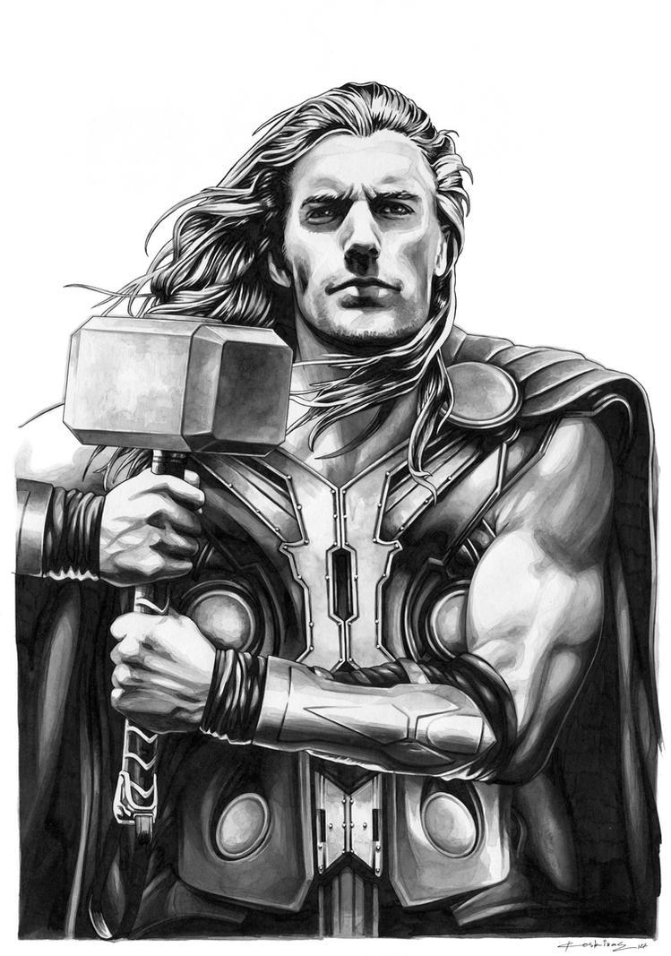 Thor Odinson (SOLD) by dimitriskoskinas