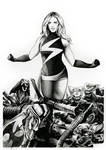 Ms Marvel VS The Brood (for sale)