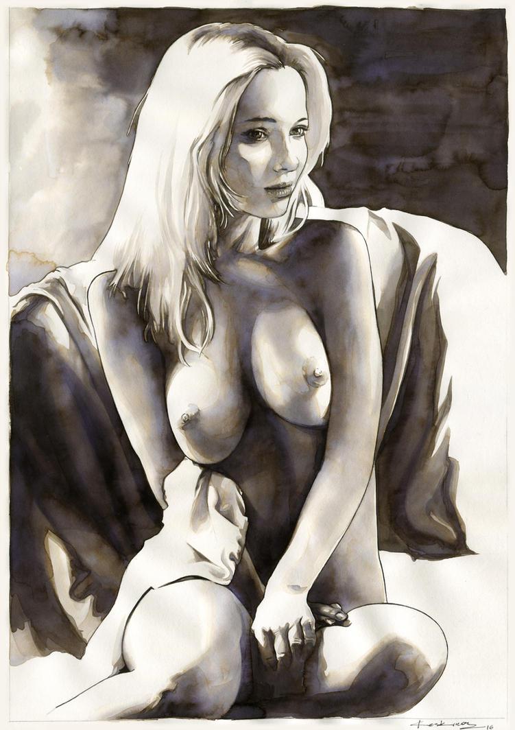 Nude no.7 (SOLD) by dimitriskoskinas