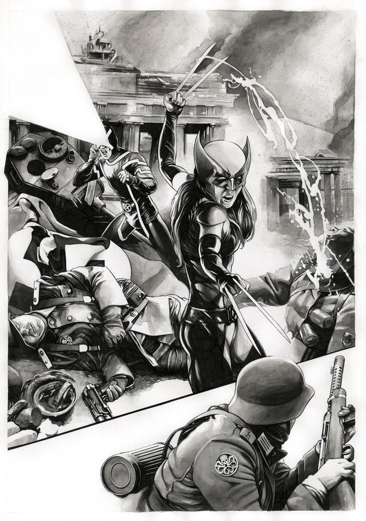 All New Wolverine/Secret Empire - SOLD by dimitriskoskinas