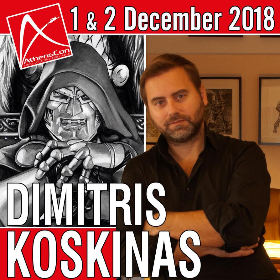 AthensCon 2018 by dimitriskoskinas
