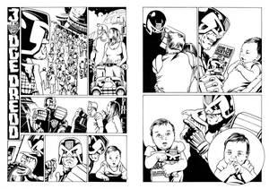 Dredd Comic strip