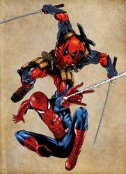 Amazing Spider Man Despicable Deadpool