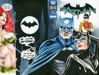 The Married Batman on Blank Cover for 100 euros