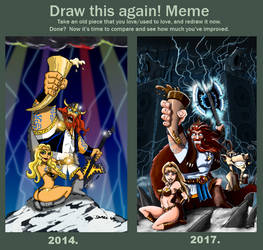 Draw this again meme by ThaneBobo