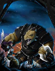 Ironwatch Artwork -  Deadzone by ThaneBobo