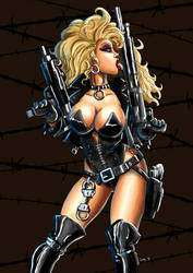 Barb Wire by ThaneBobo