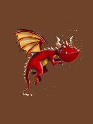 Grrrr!! I am a real dragon! by ThaneBobo