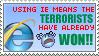 Terrorist SUPPORT by DerTerrorKruemel