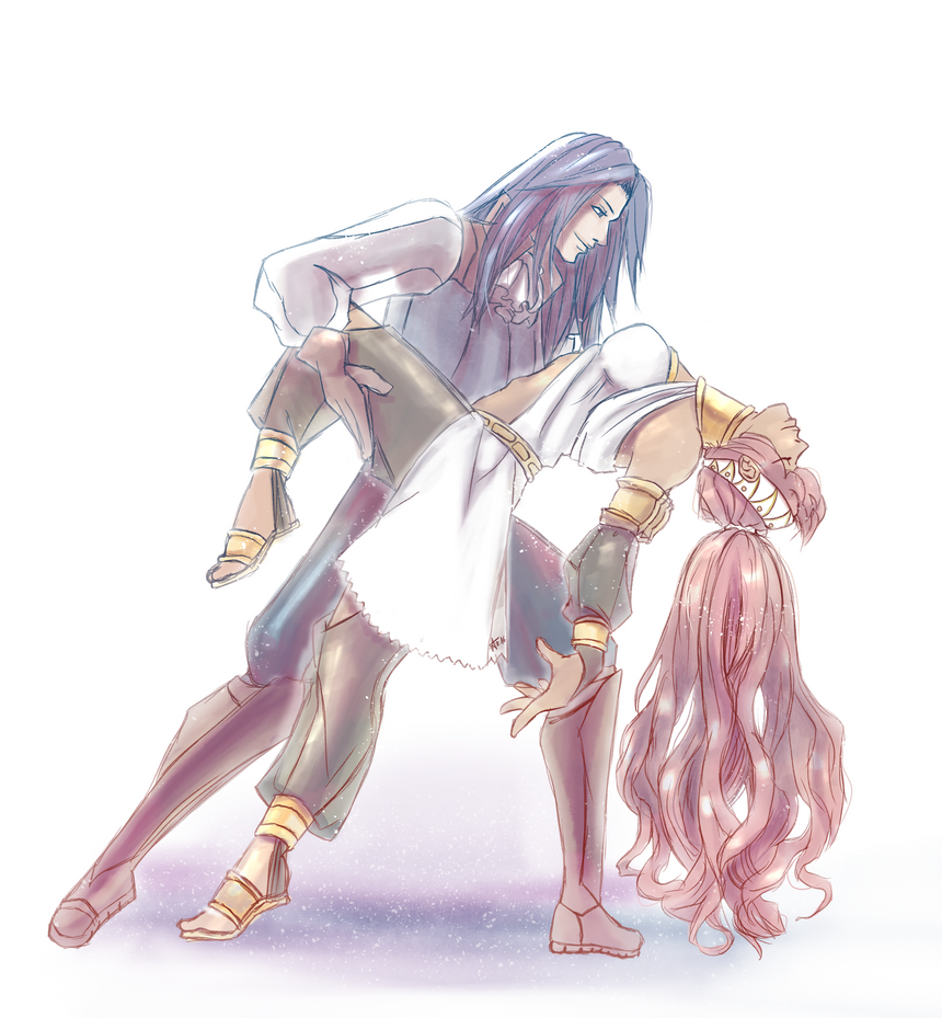 Olivia and Virion by SoundlessRoom on DeviantArt