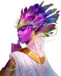 Cosmic Plant Goddess