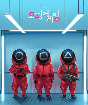 Squid game - Red Suits
