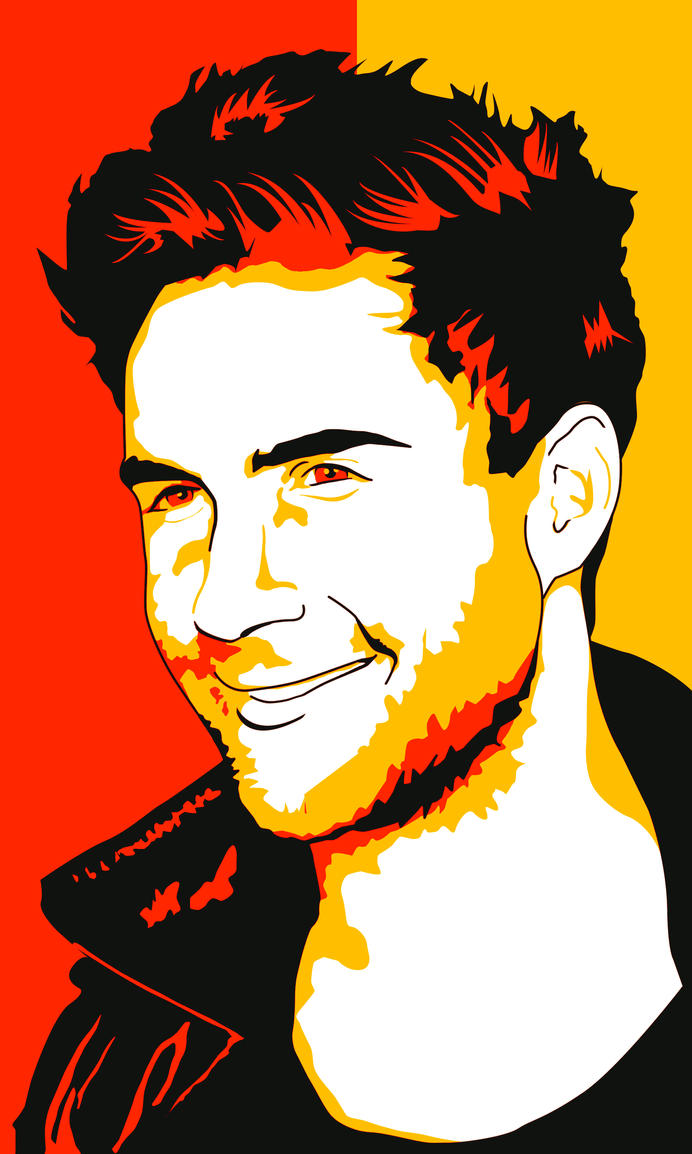 Adam Levine by GamblerArt