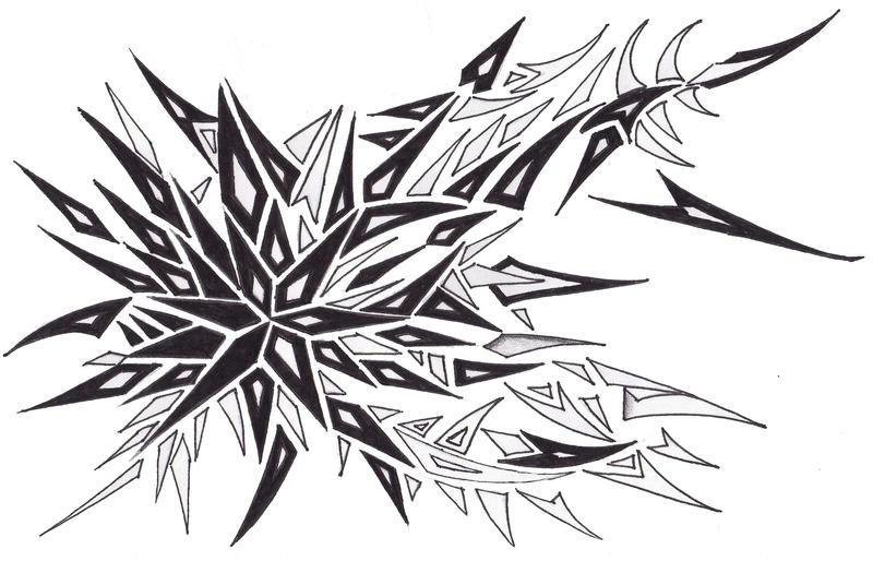 tribal tattoo 4 by gedash on deviantart. Black Bedroom Furniture Sets. Home Design Ideas