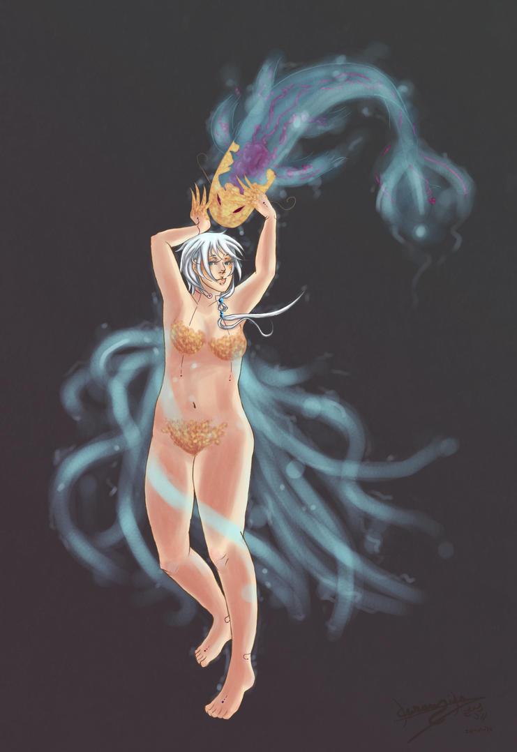 Fish Conjurer by kuramika-chan