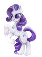Rarity by juunipupu