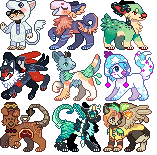 Request icons IV by juunipupu