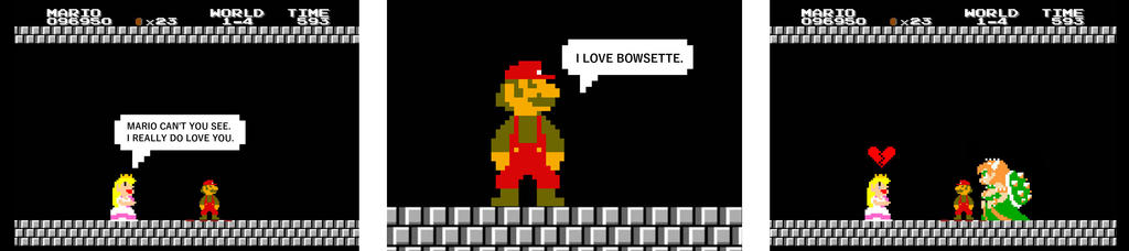 I Love Bowsette
