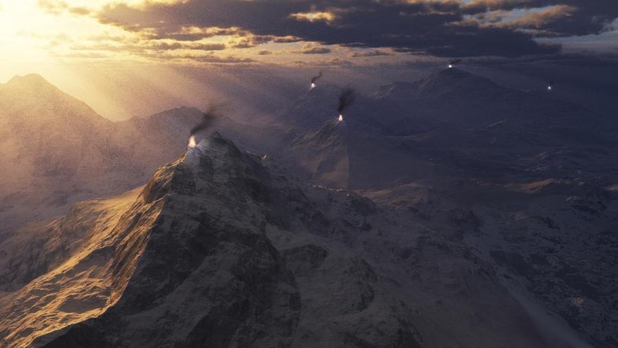 Beacons of light by Gothicpagan