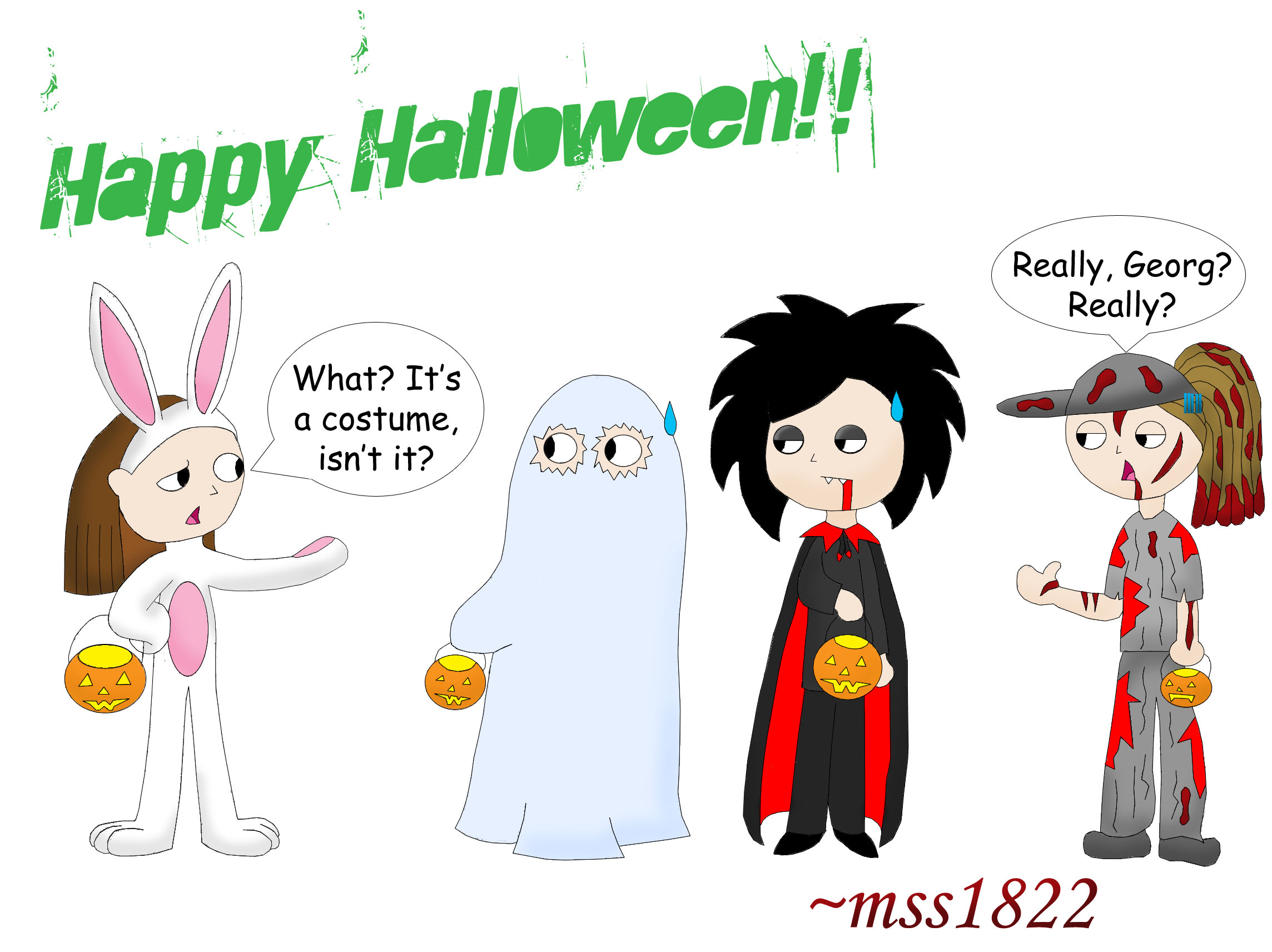 Tokio Hotel Halloween Special by MomoScarletKaulitz