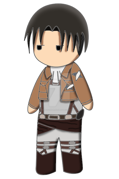 Levi Plushie [practice version] by MomoScarletKaulitz