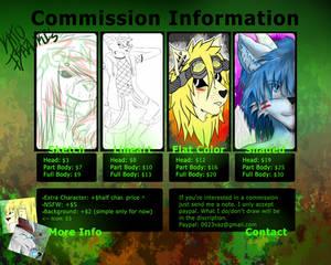 Current Commission sheet. (11/30/13)