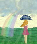 YWP a rainbow thing by YourWeeklyPixel