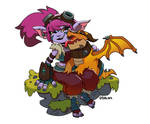 Dragon Trainer Tristana by thanabe