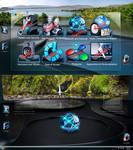 Cryo64 Colossus 4G Control Panel Mod.