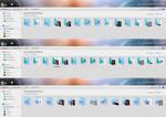 DTU Glass12 live folders color sets.