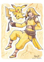Pokemon Ginjinka - Pikachu [025]