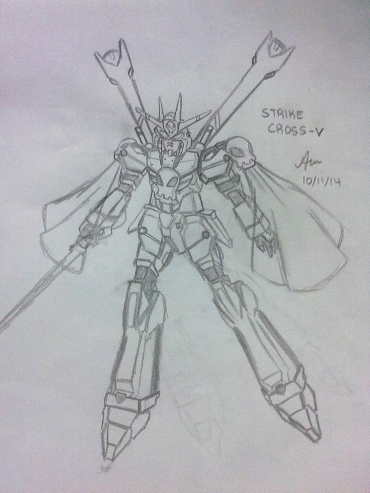 Strike Cross-V Gundam by rayquaza555